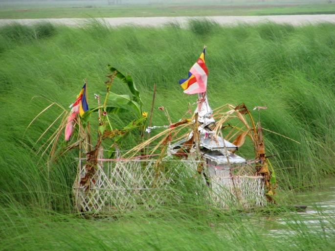 Buddhist Shrine on the river