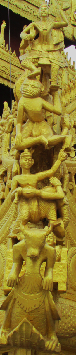Shezigon Pagoda Carving 2